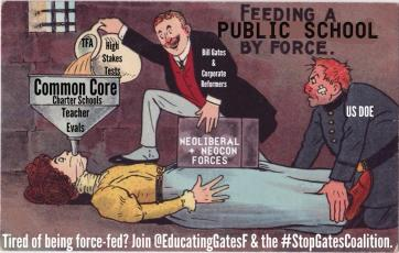 Force Feeding Public Schools